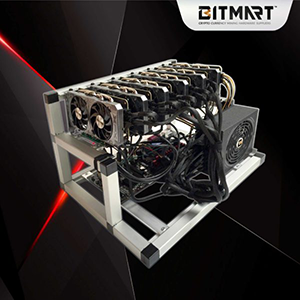 Thorium 6580 GPU ETH Mining Rig 160MH/s